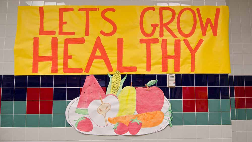 Let's Grow Healthy - USDA Photo by Lance Cheung.